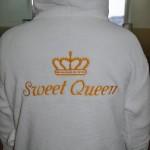 Вышивка халатов Сладкая королева