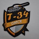 Вышивка команды КВН Т-34