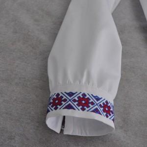 Вышивка на свадебной рубашке в Омске
