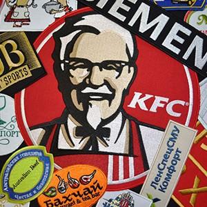 Компьютерная вышивка логотипов организаций и предприятий