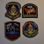 Комплект нашивок и шевронов 55 дивизии морской пехоты ТОФ