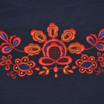Вышивка на футболках в Омске